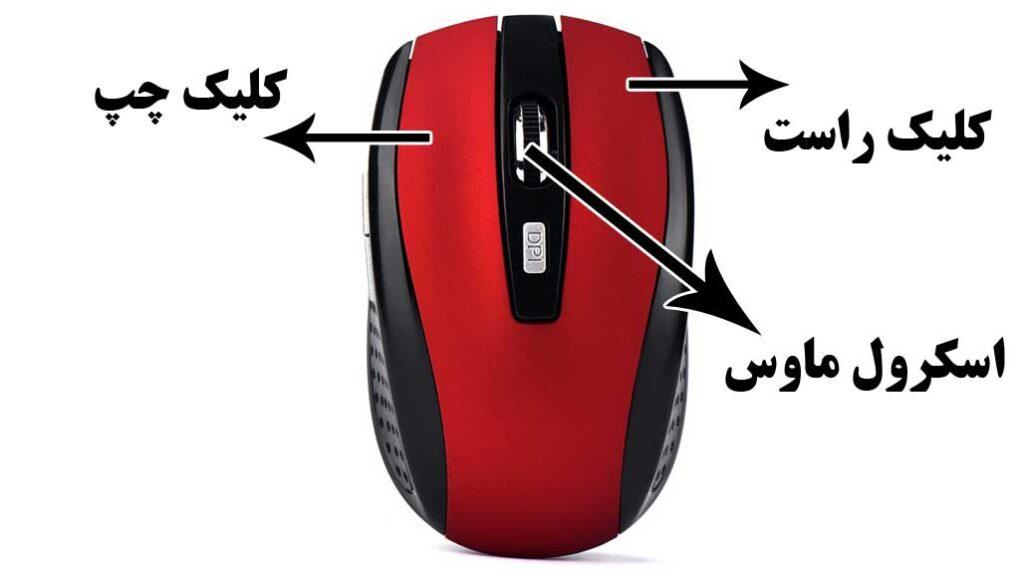 کلیدهای ماوس